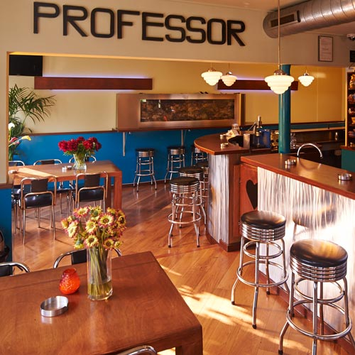 Interieur / De Professor, Coffeeshop Hilversum