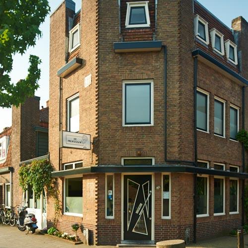 Het pand / Coffeeshop De Professor Hilversum